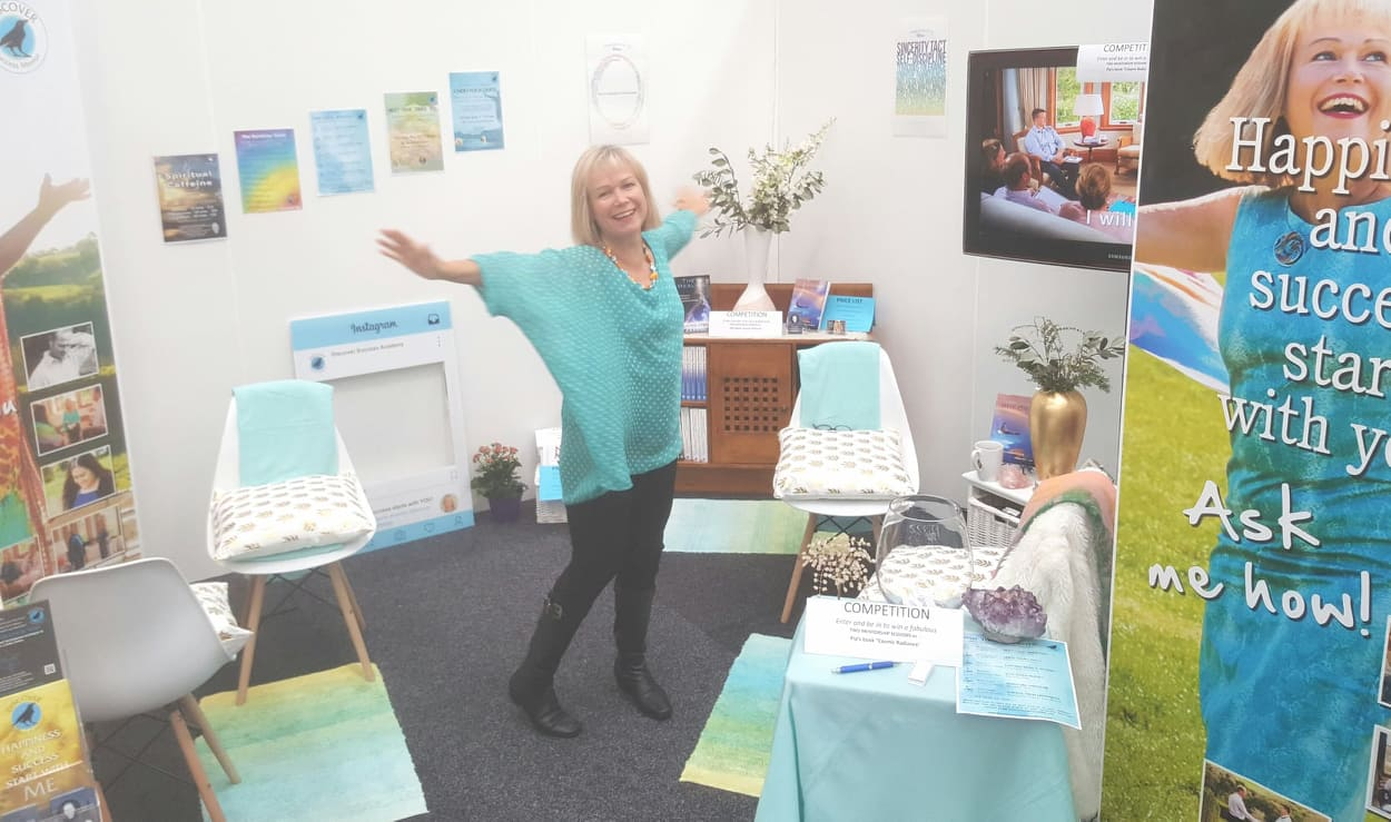 Pip Oxlade at the Women's Lifestyle Expo
